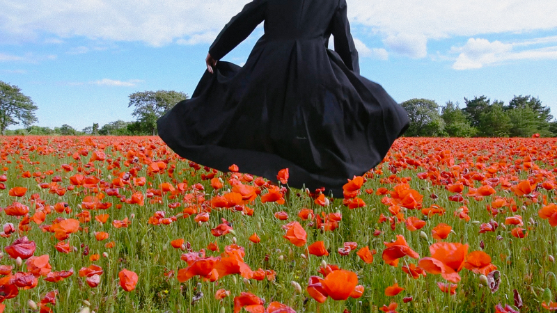 ©Florence-Montmare-Fine-Art-Photographer-Bergman-Island-Poppy-field-1